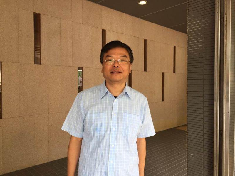 ▲黃之鋒的父親黃偉明。(圖/翻攝自《香港01》)