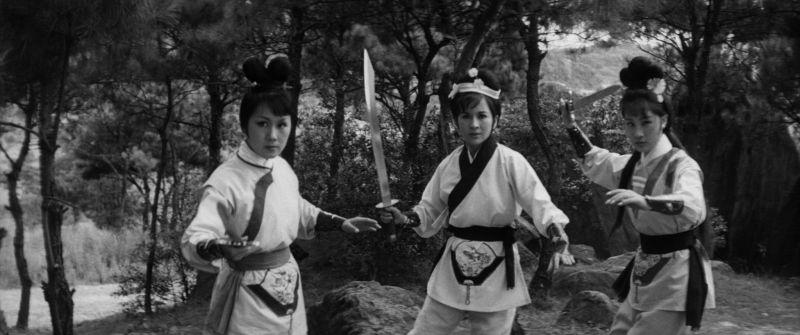 ▲《三鳳震武林》描述三姐妹被迫分離,失散多年後再聚首的復仇故事。(圖/國家電影及視聽文化中心)