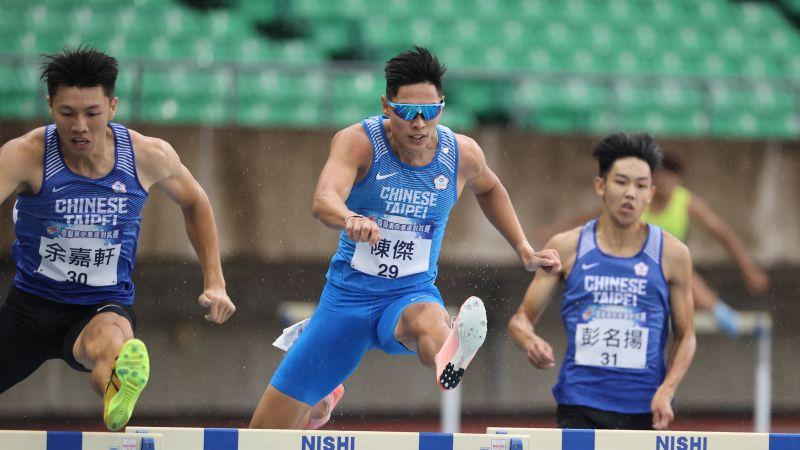 田徑/曾害怕奧運延期 <b>陳傑</b>模擬賽奪冠但「憂喜參半」