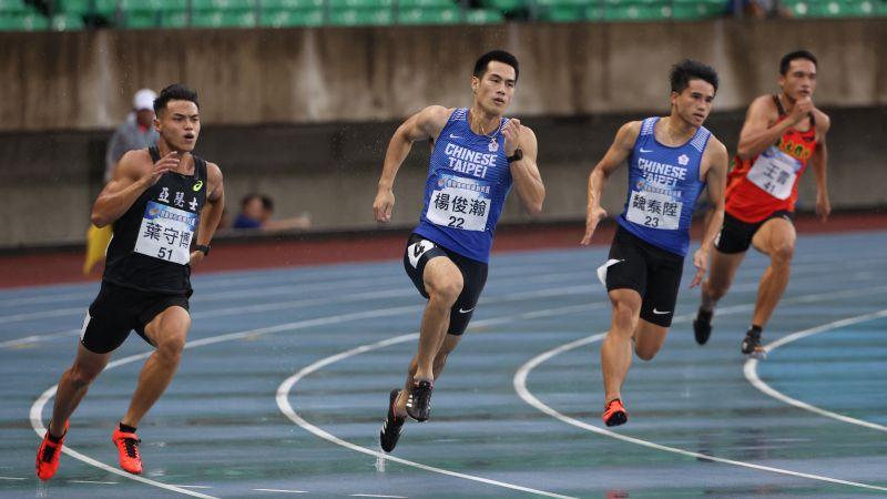 <b>田徑</b>/當兵停練 楊俊瀚遭學弟超車奪冠:我輸了也不高興
