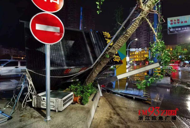 哈格比颱風繞過台灣直撞浙江 溫州緊急撤離20萬人