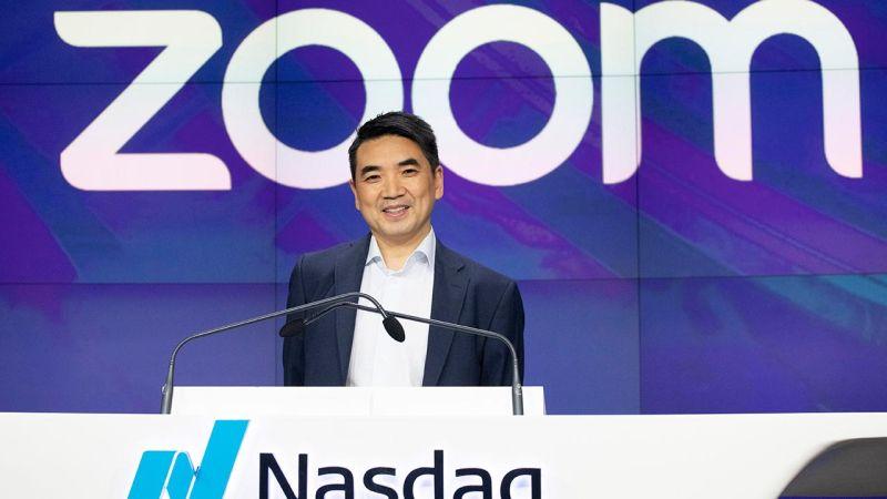 ▲Zoom宣布將於8/23半退出中國市場。(圖/翻攝自 FOX Business )