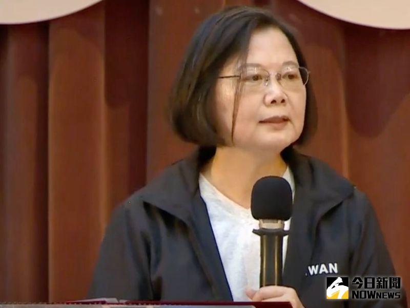 撩總統!蔡英文致詞問為何參加青年營?學生回:為了你
