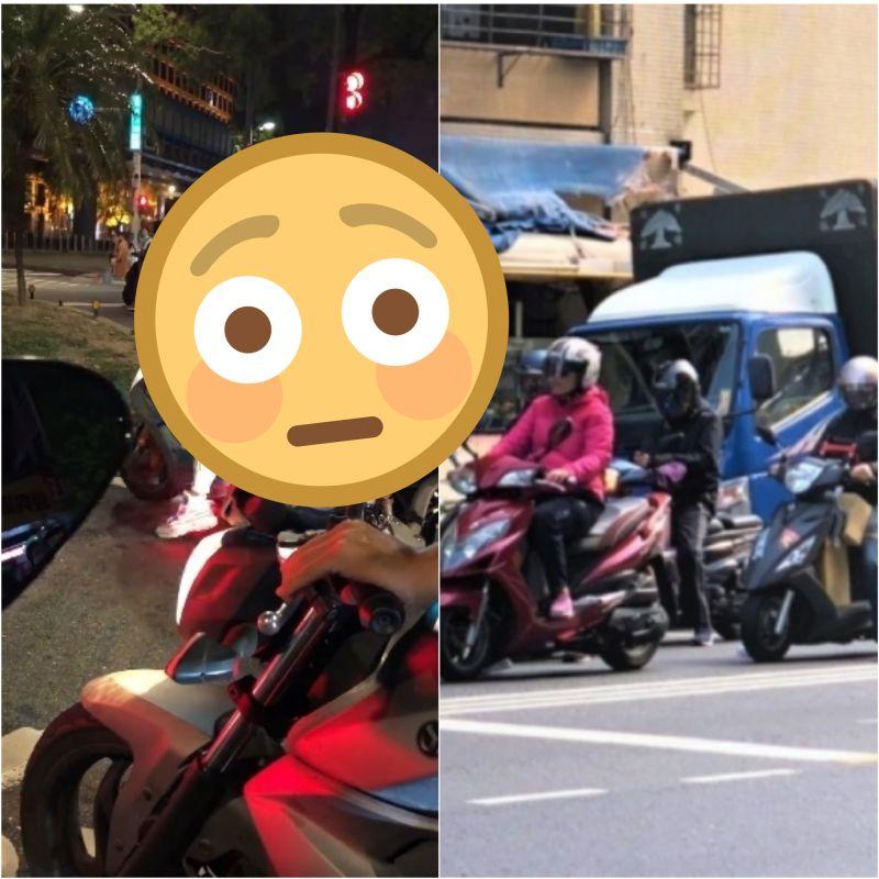 超怕晚上騎車沒人看?男穿「神裝備」上路 眾驚:開單了