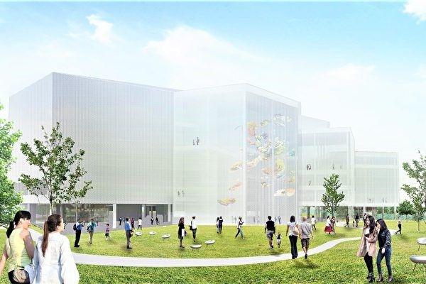 ▲台中綠美圖為美術館與圖書館共構建築。(圖取自台中市政府官網)