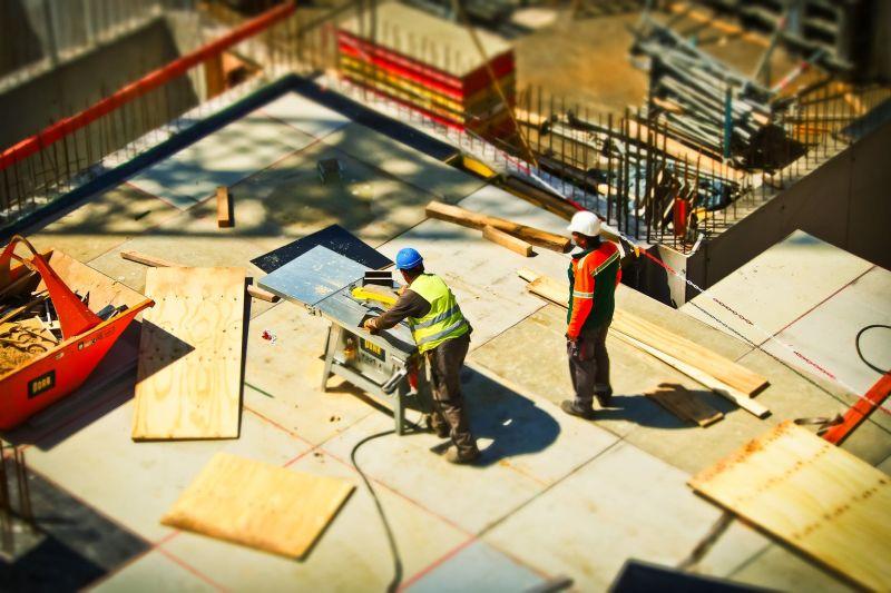 工人、蓋房子、勞工、勞動部、勞力、高溫、熱