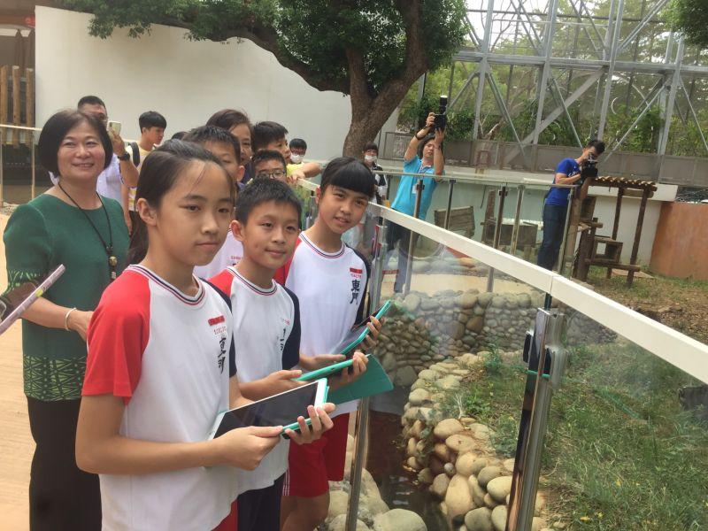 雙語學習好好玩 <b>新竹動物園</b>與校園建置擴增實境