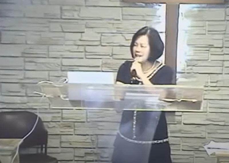 ▲牧師郭美江於8月4日早上7點09分逝世。(圖/翻攝自Youtube)