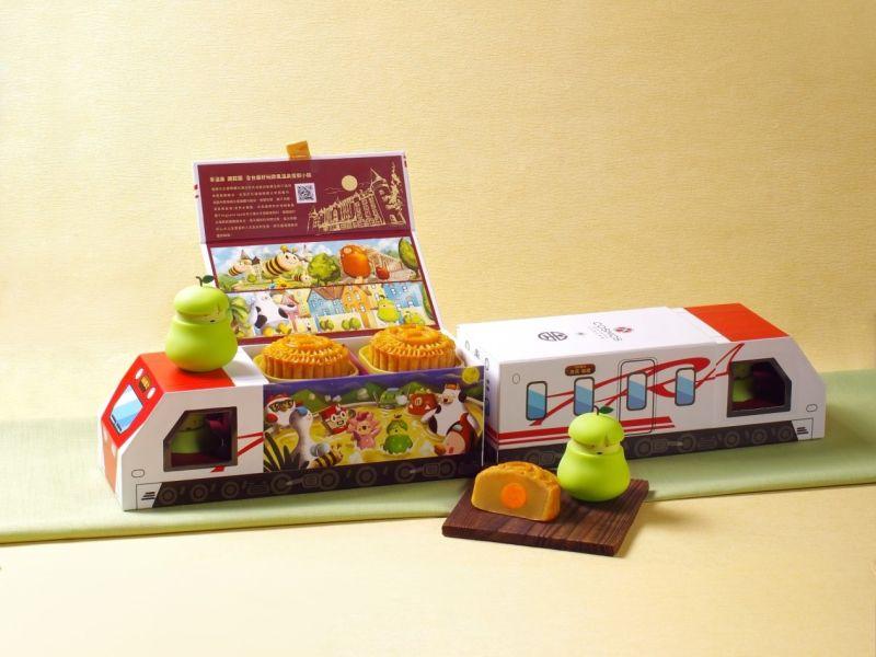 鐵道迷快衝!台鐵推普悠瑪月餅禮盒 8/7開放預購