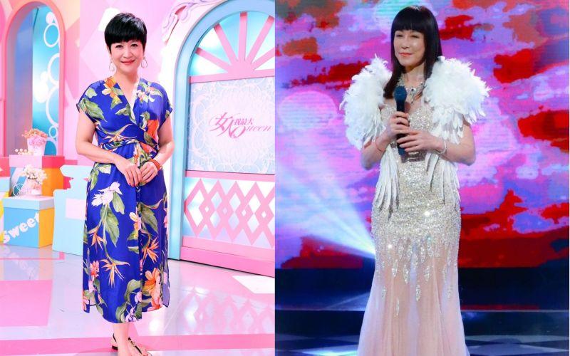 ▲羅霈穎(右)全身名牌,教會崔佩儀(左)愛自己。(圖/羅霈穎臉書、TVBS提供)