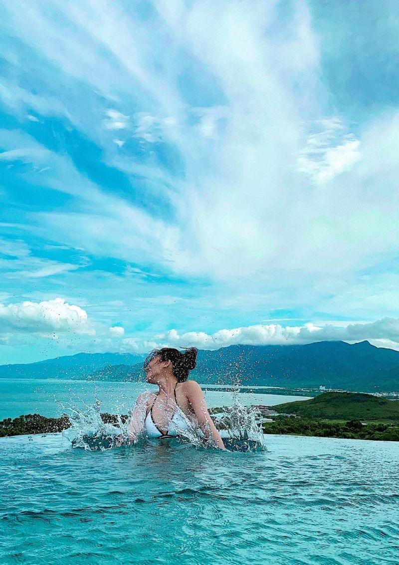 ▲Kimiko前往墾丁享受假期。(圖/Kimiko臉書)