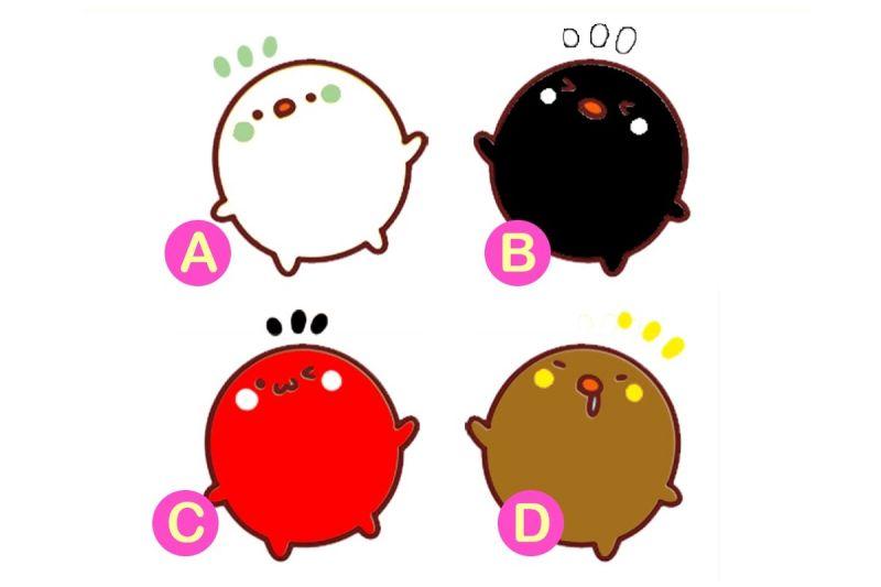 從色彩看穿你!喜歡哪隻小雞配色?看出你的「外在特質」