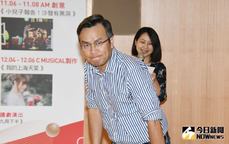 ▲曾慧誠出席「2020新北市音樂劇節」記者會。(圖/記者林調遜攝)