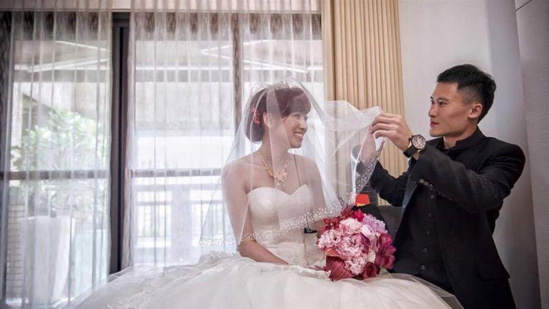 ▲謝銘杰(右)與米可白的婚姻僅維持6年就破局。(圖/米可白臉書)