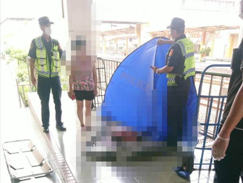 田中車站區間車「碰撞」 婦人從<b>月台</b>掉落鐵軌