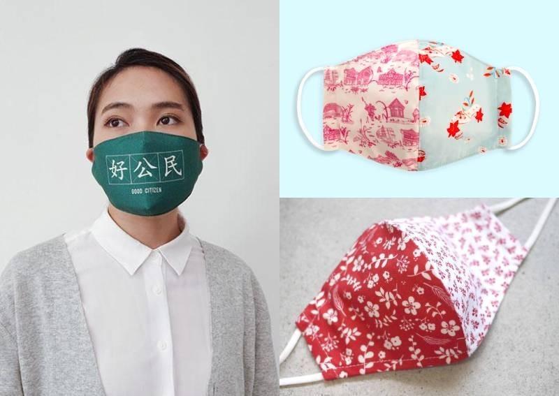 新加坡迎接國慶月 商家推出創意口罩超吸睛