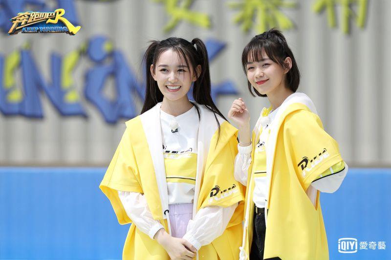 ▲蔣依依(左)演過2次Angelababy劇中小時候。(圖/愛奇藝提供)