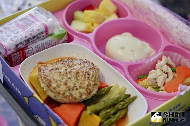 ▲兒童餐充滿可愛的