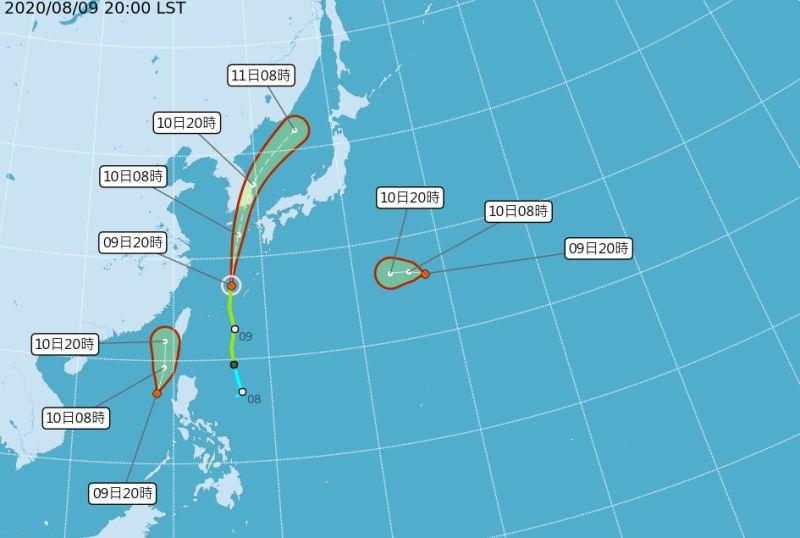 2熱帶性低氣壓「準颱風」生成!最靠近台灣時間出爐