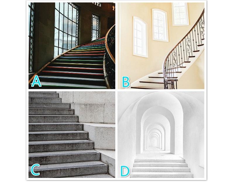 直覺選出最想從哪座樓梯走向天國?預測你的「發財之路」