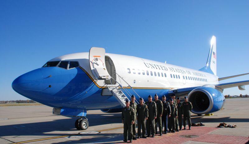 美國空軍C-40C運輸機