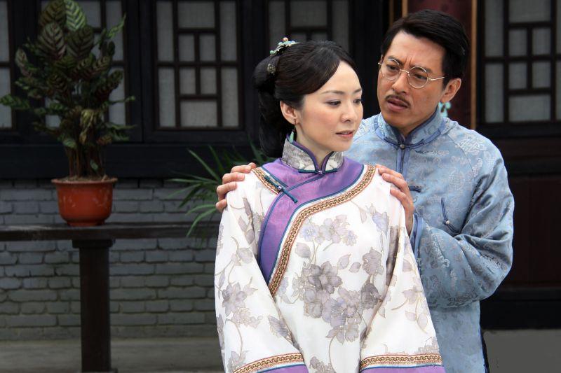 ▲潘儀君(左)、呂頌賢主演《千金》。(圖