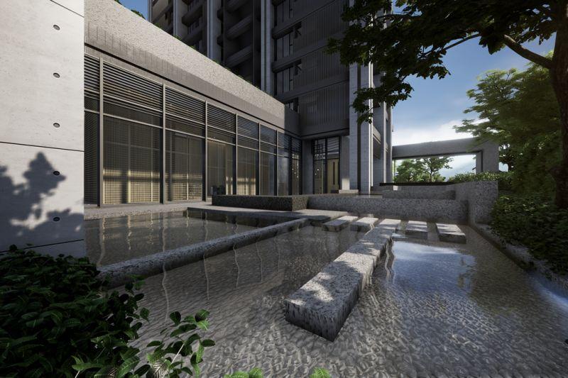 ▲東騰開發首次進入桃園市場,以「匠人精神」打造區內獨有的日系簡約清水建築。 (圖/品牌提供)