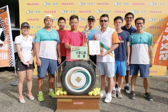 坤旺營造A雪恥成功 首度稱霸正新瑪吉斯第一金控盃