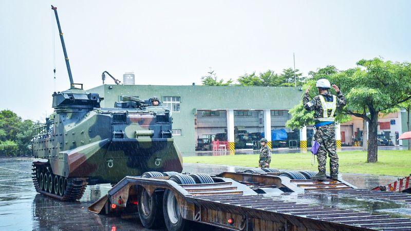 米克拉颱風來襲 陸戰隊<b>超前部署</b>進駐恆春地區