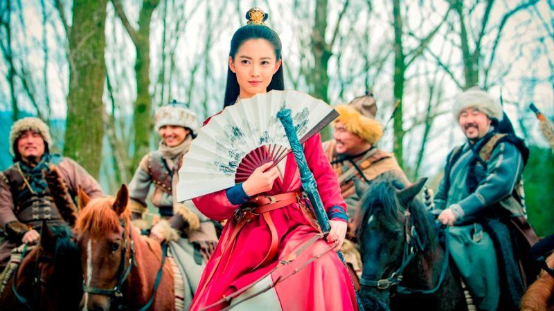 ▲陳鈺琪飾新一代趙敏。(圖