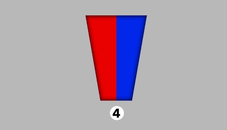 ▲紅色和藍色。(圖/翻攝shinri)