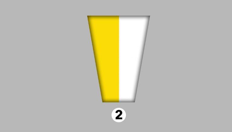 ▲黃色和白色。(圖/翻攝shinri)