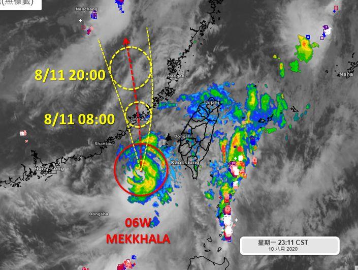 ▲天氣職人吳聖宇在臉書粉絲團分享全台降雨最顯著的時段。(圖/翻攝自吳聖宇臉書)