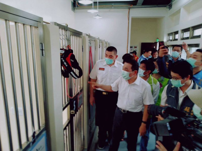 全台灣首座「搜救犬、<b>警犬</b>」訓練認證大樓 新北三峽落成