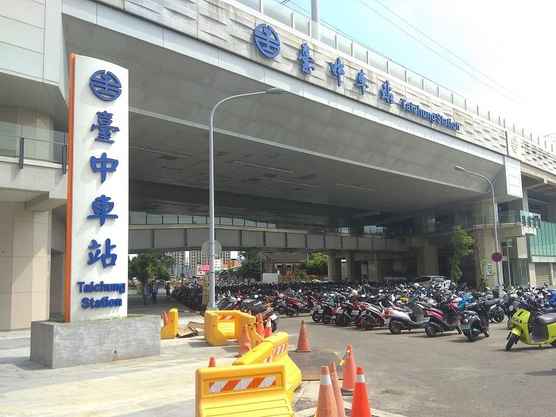 中市府接管火車站前10米計畫道路 違停機車族當心了