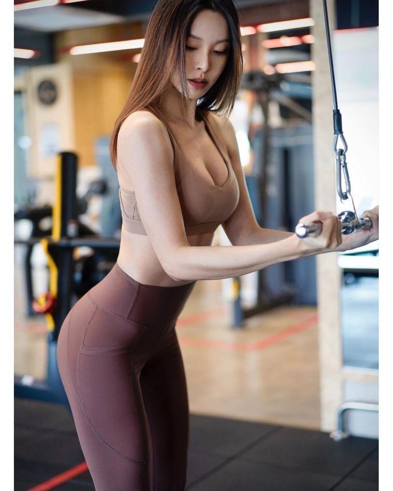 ▲李元玲表示自己鍛鍊身體是為了自己的健康和快樂。(圖/李元玲IG)
