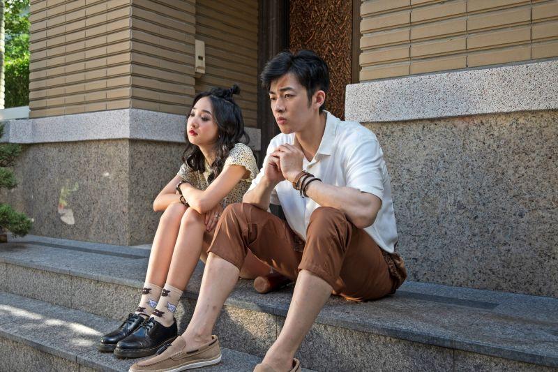 ▲李沐(左)飾演蕭子墨的妹妹。(圖