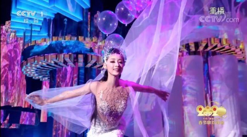 ▲中國大陸春晚首次運用5G、4K/8K和VR技術,帶給觀眾絕佳的視聽饗宴。(圖/翻攝自YouTube)