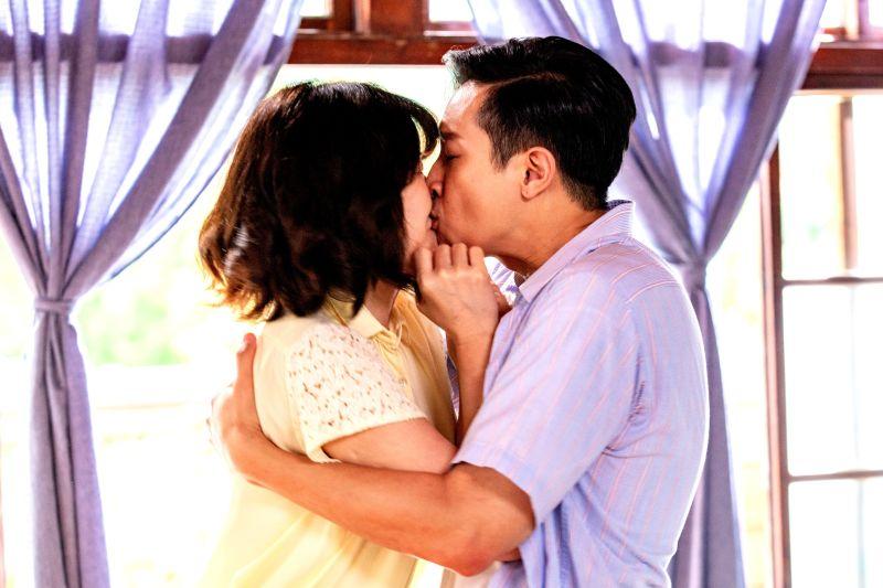 ▲邱凱偉、李維維都直呼這次吻戲實在太醜。(圖