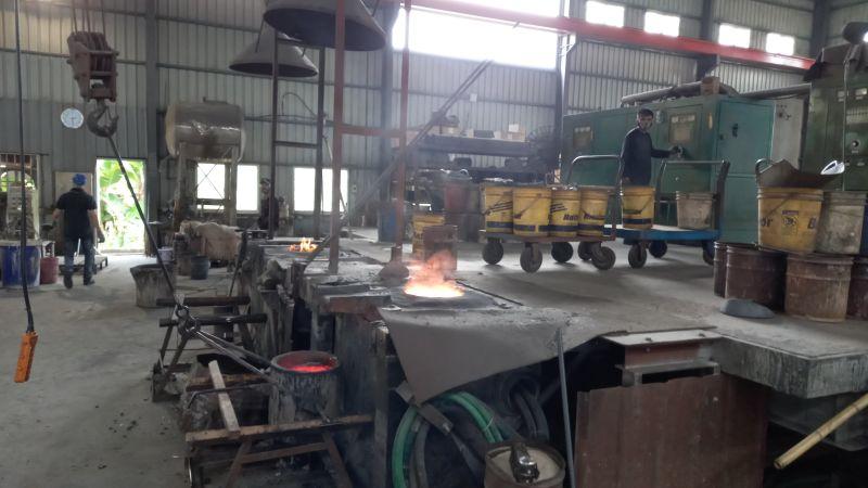 烏日鑄造廠違法運作  開罰144萬元負責人移送偵辦
