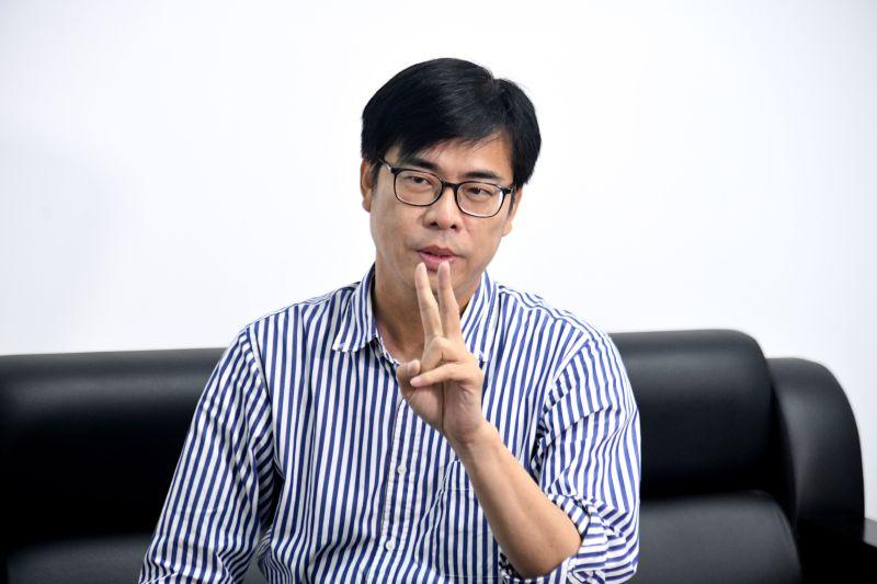 專訪/提振高雄經濟 陳其邁要打造全球最強半導體聚落