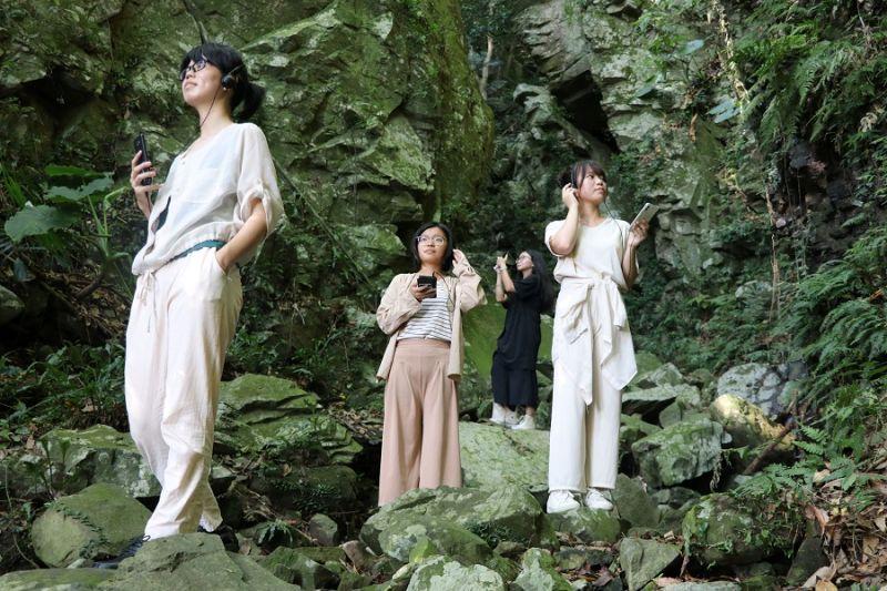 十三行博物館「聲音漫遊山線」 秘境中找廖添丁躲藏洞穴