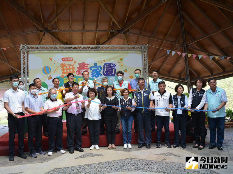 ▲在南興國中探索體驗校區舉辦的親子同樂探索營。(圖/記者郭政隆攝影2020.8.13)
