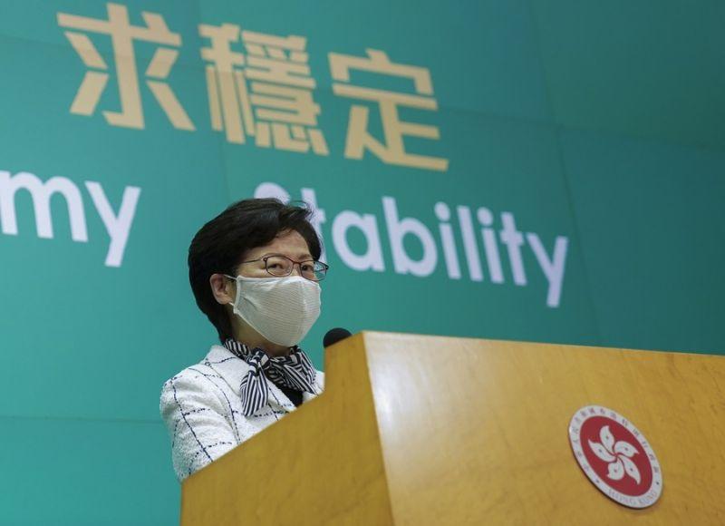 北京強調香港實行行政主導 非<b>三權分立</b>