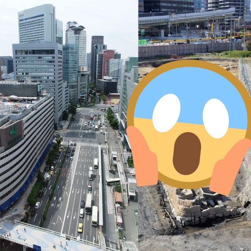 日本<b>大阪</b>車站旁挖出「1500具人骨」!網一看:難怪會迷路