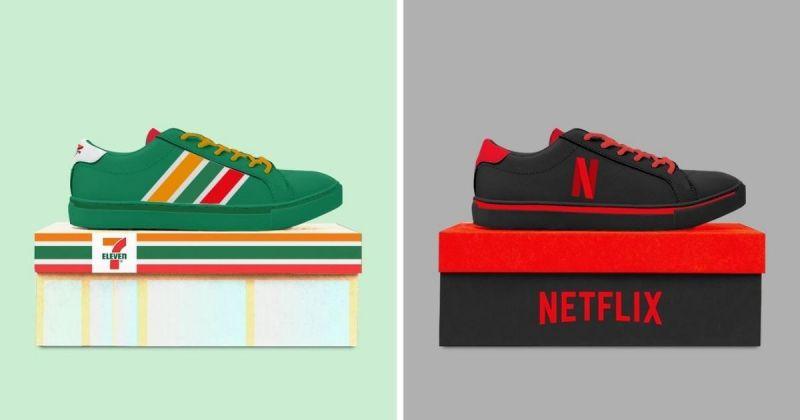 小七聯名球鞋將上市?日本最強聯名設計引熱議