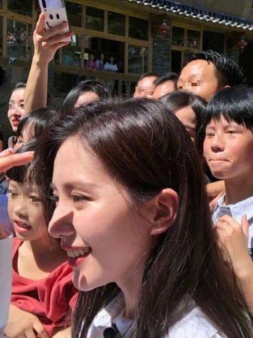 ▲劉詩詩零修片照。(圖/新浪綜藝微博)