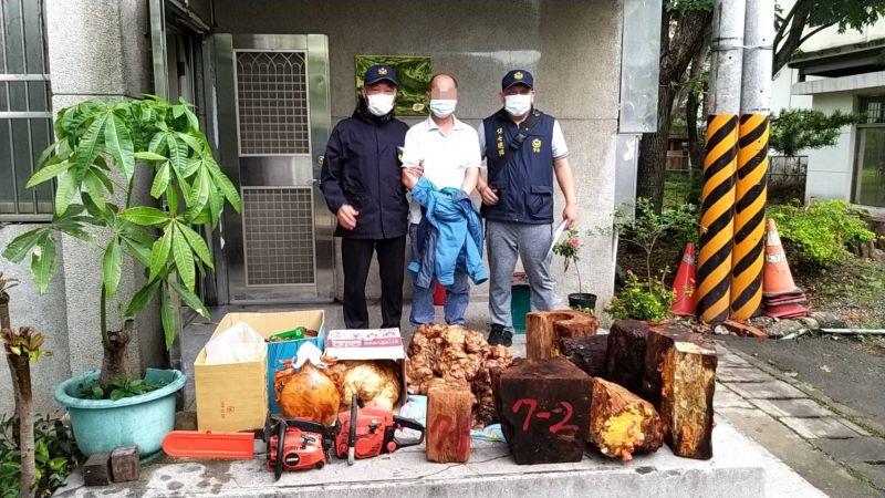 山老鼠吃台灣黑熊盜伐林木 新竹地檢提公訴求處重刑