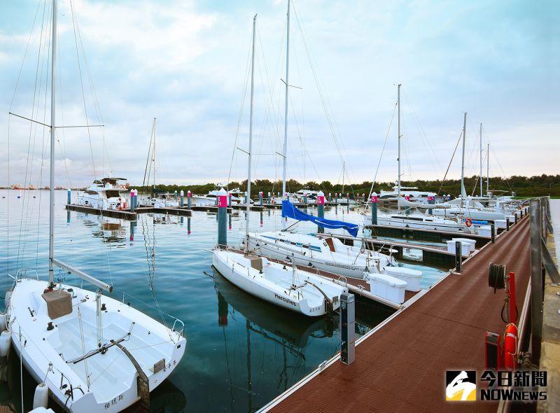 ▲市政新灣區最大亮點「安平國際遊艇城」。(圖/興富發建設提供)