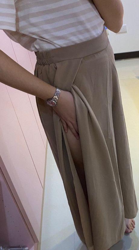 ▲原PO提醒,大家之後買這種類型的褲子,還是要特別注意,以免走光。(圖/翻攝自《Dcard》